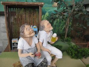 かき氷とおばあさん.JPG